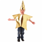 GOLD STAR BY CHRISTYS CHILDRENS FANCY DRESS COSTUME